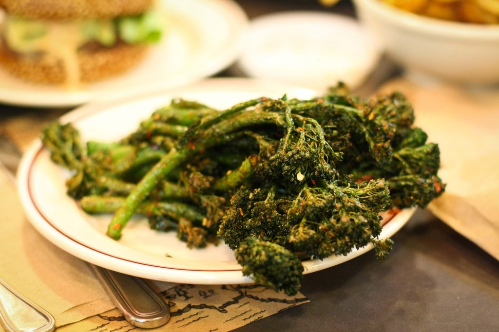 Spicy Fried Broccolini