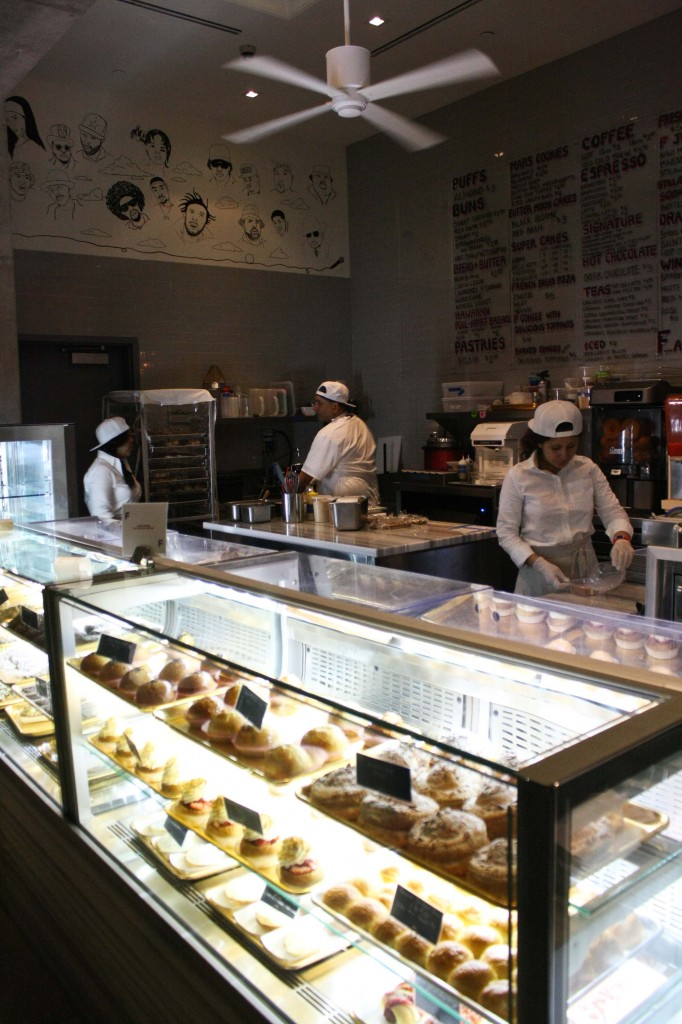 The Bakery, located in the lobby serves all sorts of unique goodies.