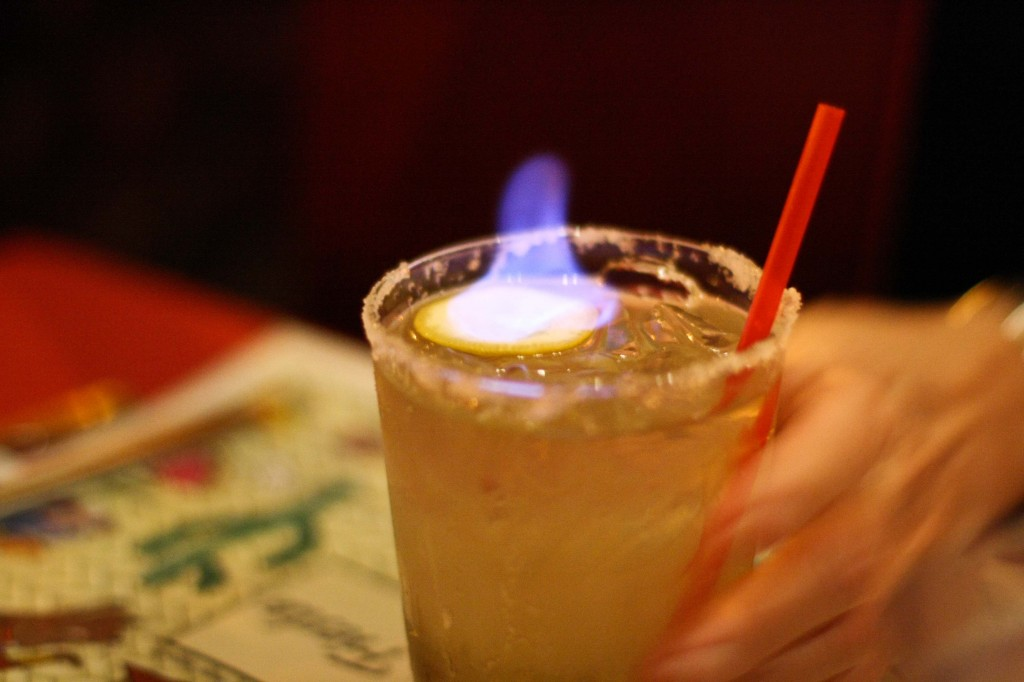 Flaming Margarita