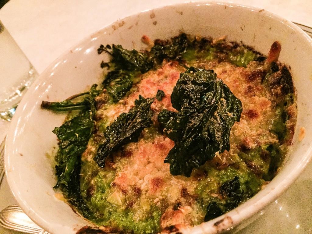 Broccoli Gratin - $9